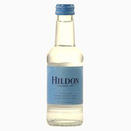 Вода 0.20 л  фото и цена Английской ВОДА HILDON DELIGHTFULLY STILL NATURAL MINERAL WATER GLASS BOTTLE 200 МЛ
