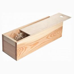 Упаковка Россия  wooden_box_champagne_with_sliding_lid_bottle_pine